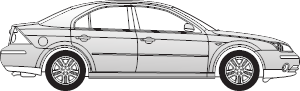 Ford Mondeo III  Limousine